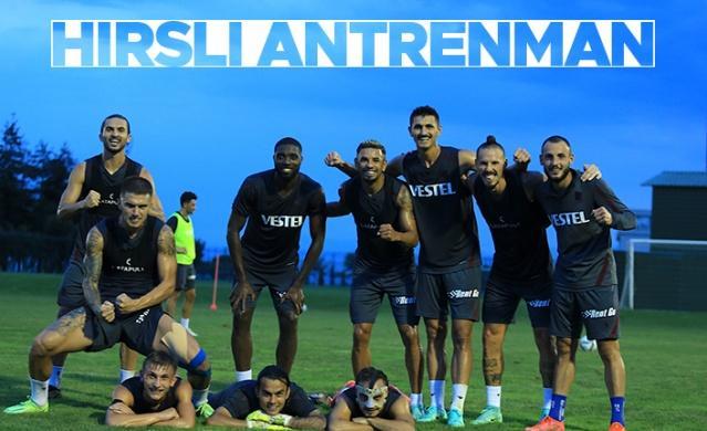 Trabzonspor'un UEFA Konferans Ligi 3. ön eleme turu rövanşında oynayacağı Molde FK maçı hazırlıkları devam ediyor.