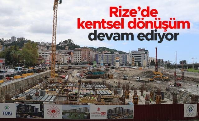 Rize Belediye Başkanı Rahmi Metin, kentsel dönüşüm çalışmaları hakkında yaptığı açıklamada belediye blokları olarak bilinen alanda dükkanların 12 ay içerisinde esnafa teslim edileceğinin altını çizdi.