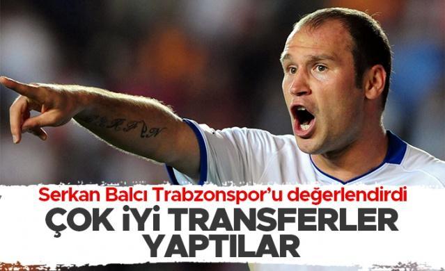 Futbol kariyerinin sona ermesinin ardından şimdilerde teknik direktörlük için eğitimler alan Serkan Balcı, Trabzonspor ile ilgili açıklamalarda bulundu.  Milliyet'e röportaj veren Serkan Balcı şu ifadeleri kullandı:
