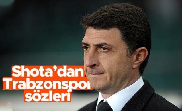 Eski Trabzonsporlu futbolcu ve teknik direktör Shota Arveladze, Ajansspor ile soru cevap yaptı.  İşte Shota'nın Trabzonspor ile ilgili açıklamaları: