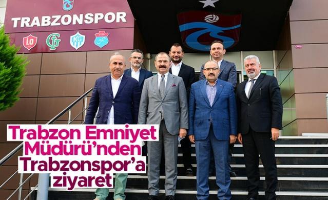 Trabzon Valisi İsmail Ustaoğlu ve Trabzon Emniyet Müdürü Kenan Aydoğan Trabzonspor'u ziyaret etti.