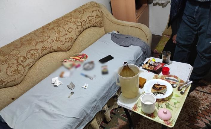 Çanakkale'de uyuşturucu partisine polis baskını