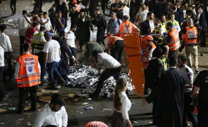 İsrail'de kutlamalarda facia: 38 ölü, 103 yaralı