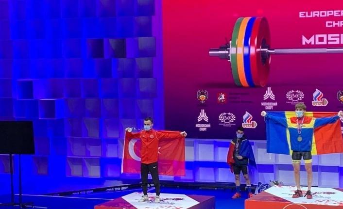 Muammer Şahin Avrupa ikincisi oldu