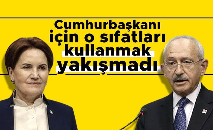 Selvi'den Kılıçdaroğlu ve Akşener'e: Cumhurbaşkanı için o sıfatları kullanmak yakışmadı