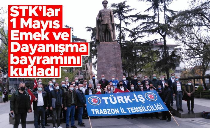 Trabzon'da STK'lar 1 Mayıs Emek ve Dayanışma bayramını kutladı
