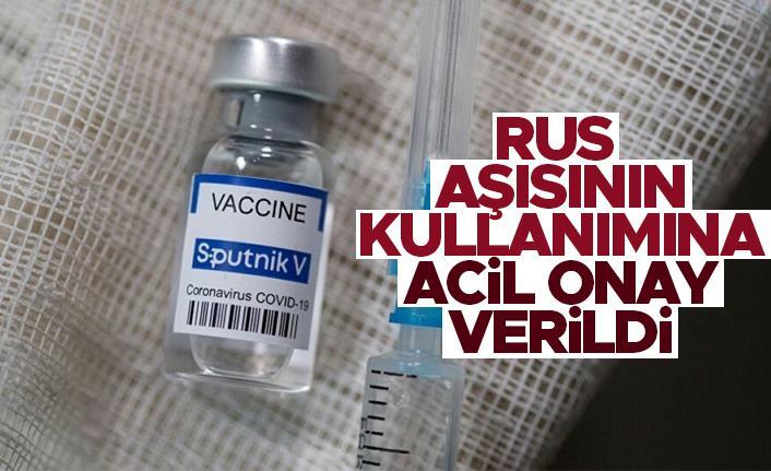 Türkiye, Sputnik V aşısına onay verildi!
