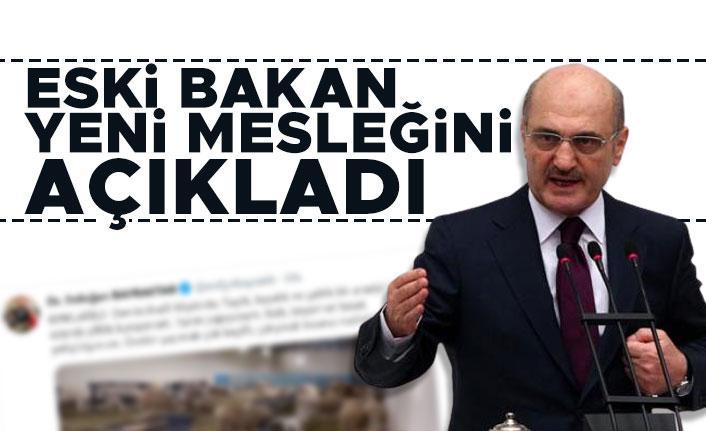 Eski Şehircilik ve Çevre Bakanı Erdoğan Bayraktar'ın yeni mesleği belli oldu