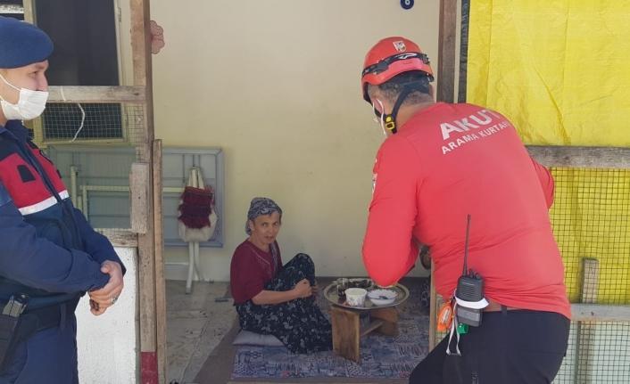 Giresun'da kayıp yaşlı kadın bulundu