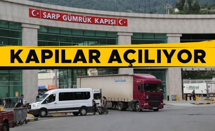 Gürcistan sınır kapıları açılıyor!