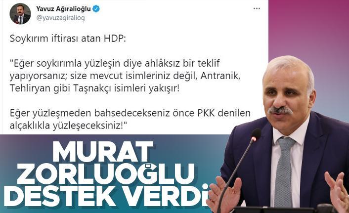 İYİ Parti'li Ağıralioğlu'na Murat Zorluoğlu'ndan destek
