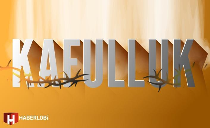 Kafulluk 1 Mayıs 2021