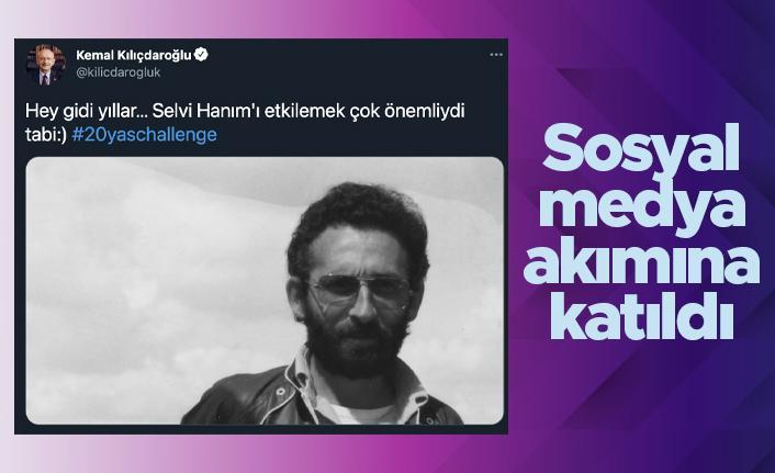 Kemal Kılıçdaroğlu sosyal medya akımına katıldı