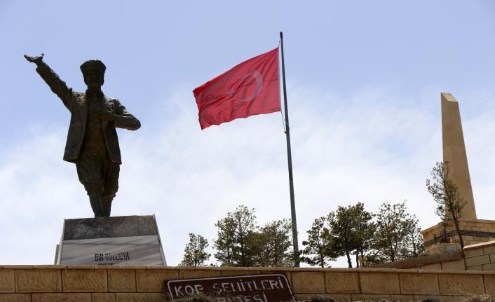 Kop Dağı Müdafaası Tarihi Milli Parkı bu sene sessiz