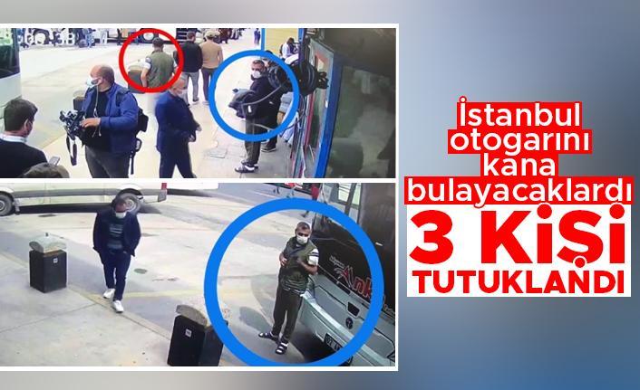 Otogarda patlayıcı ile yakalanan 3 şüpheli tutuklandı