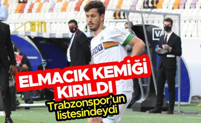 Salih Uçan'ın elmacık kemiği kırıldı! Trabzonpor'un listesindeydi...