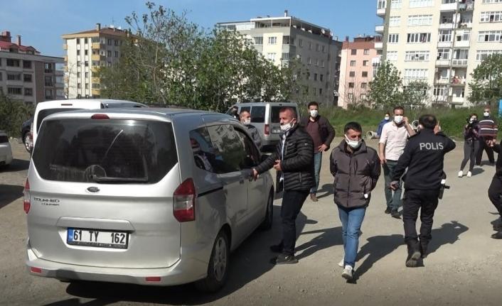 Trabzon'da izinsiz 1 Mayıs eylemine polis müdahale etti: 9 gözaltı