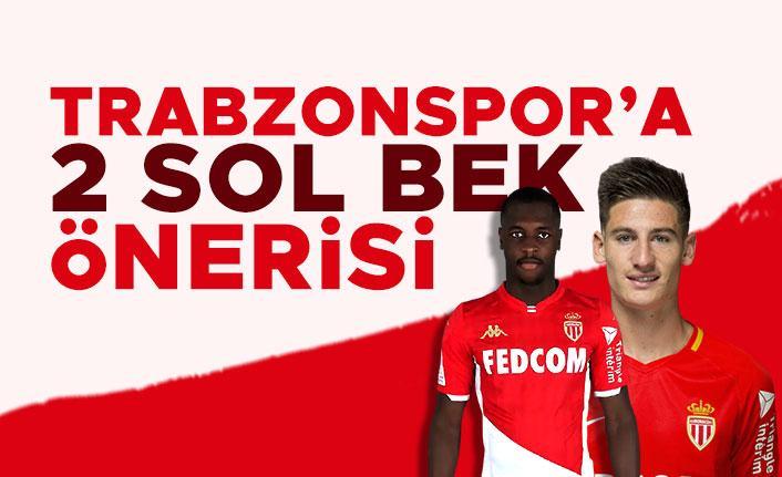 Trabzonspor'a 2 sol bek önerisi