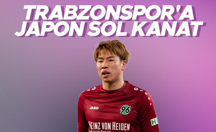 Trabzonspor'a Japonya'dan sol kanat