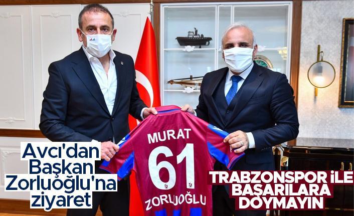 Trabzonspor Teknik Direktörü Abdullah Avcı'dan Başkan Zorluoğlu'na ziyaret
