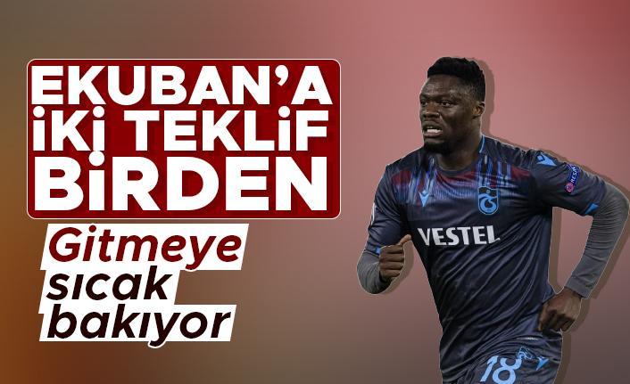 Trabzonspor'un yıldızı Caleb Ekuban'a iki teklif