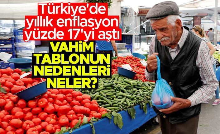 Türkiye'de yıllık enflasyon yüzde 17'yi aştı! Enflasyon neden artıyor? Neler yapılabilir?