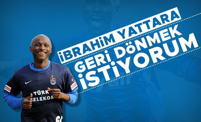 """ Yattara: """"Trabzonspor'a geri dönmek istiyorum"""""""