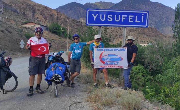60 yaşından sonra bisikletleriyle Türkiye'ye turuna çıktılar