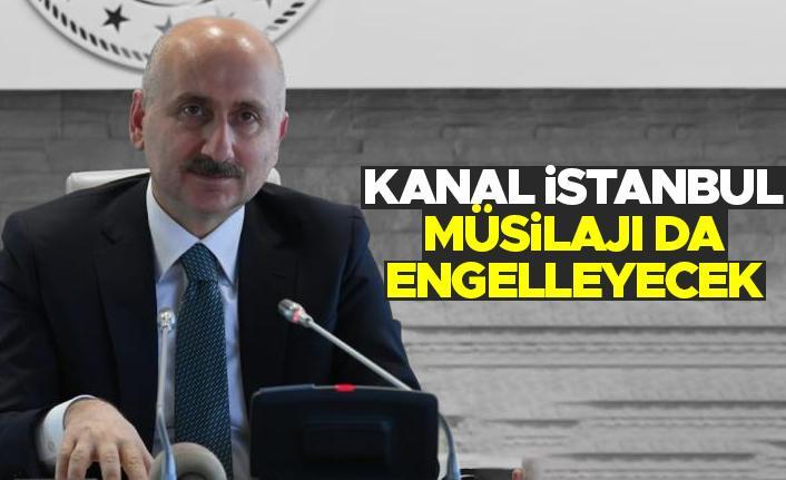 Adil Karaismailoğlu: Kanal İstanbul deniz salyasını azaltır