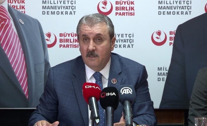 BBP Genel Başkan Destici'den HDP yorumu: Hangi demokraside teröre müsaade var