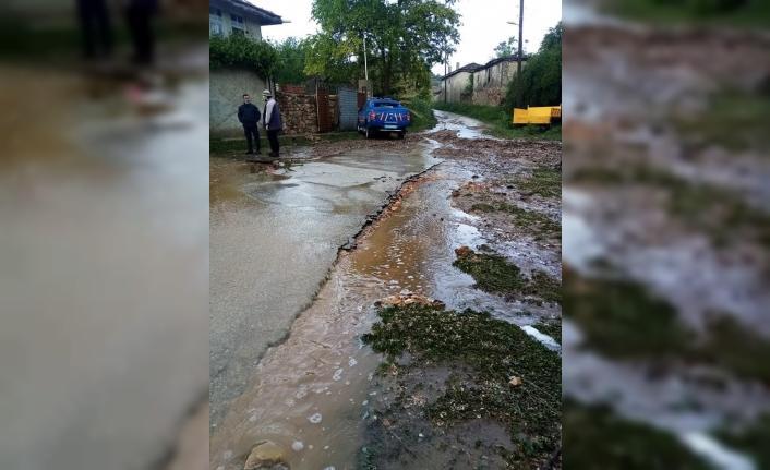 Bilecik'te aşırı yağış sele sebep oldu