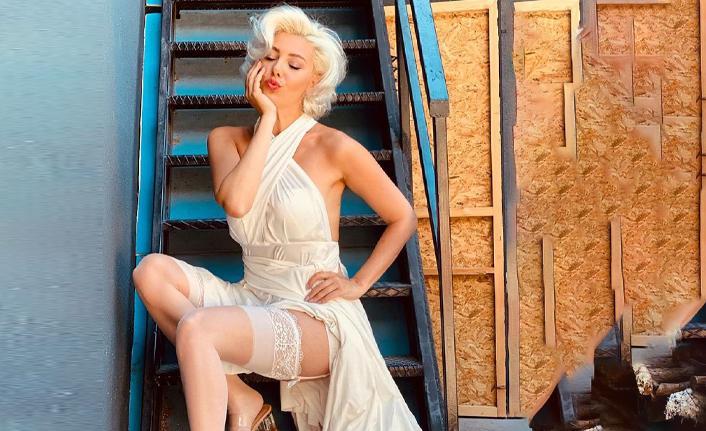 Burcu Binici neden Marilyn Monroe oldu?