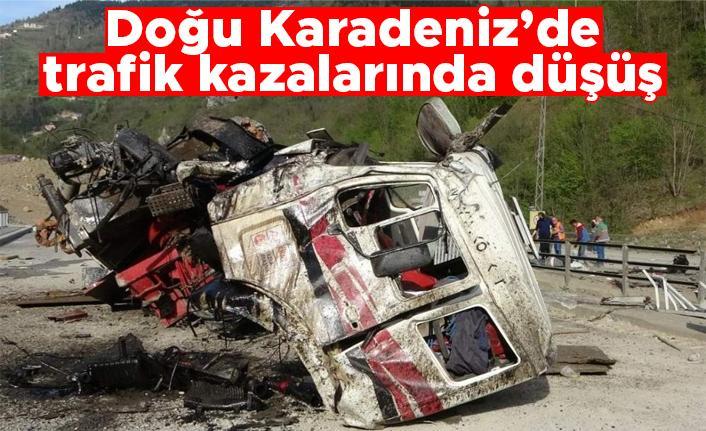 Doğu Karadeniz'de trafik kazalarında düşüş
