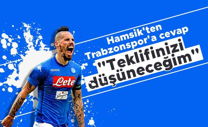 Hamsik'ten Trabzonspor'a: 'Teklifinizi düşüneceğim'