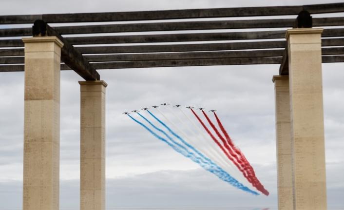 Normandiya'da İngiliz Anıtı'nın açılışı yapıldı