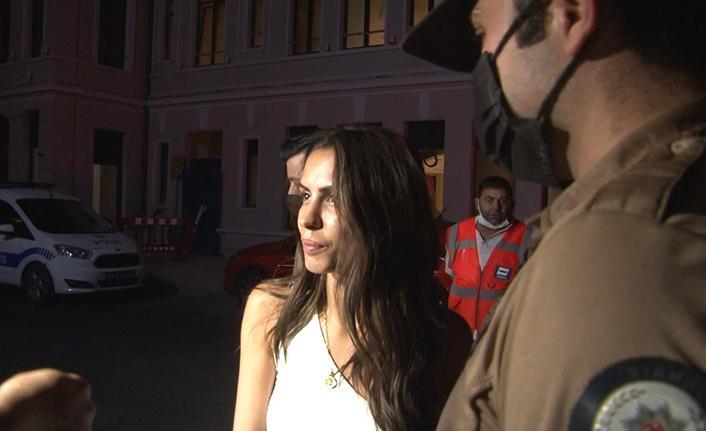 Oyuncu Ayşegül Çınar ve eski sevgilisi gözaltında