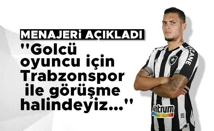 Rafael Navarro'nun menajeri: ''Golcü oyuncu için Trabzonspor ile görüşme halindeyiz…''