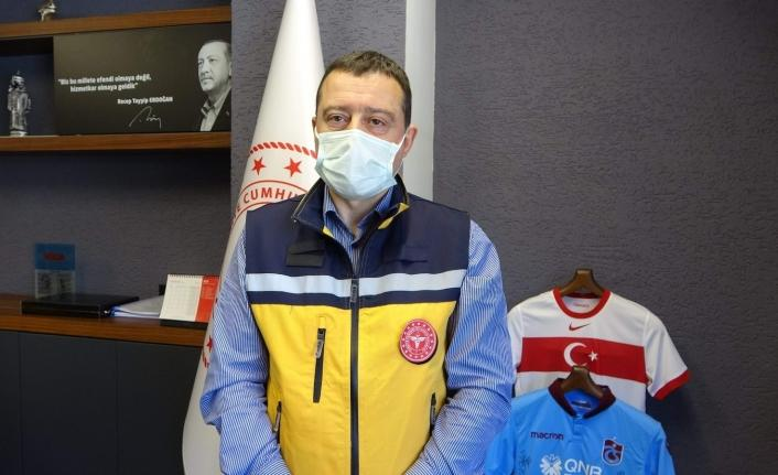 Trabzon'da bir cenazede kişilerin birbirleriyle teması sonucu 33 vaka tespit edildi