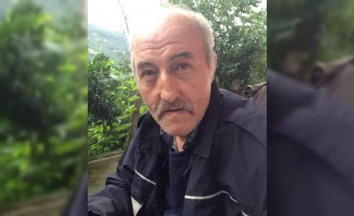 Trabzon'da yamaçtan dereye düşen şahıs hayatını kaybetti