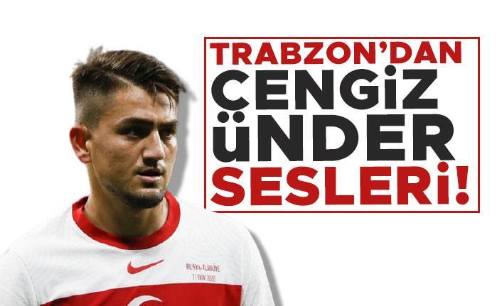 Trabzonspor'da Cengiz Ünder sesleri!