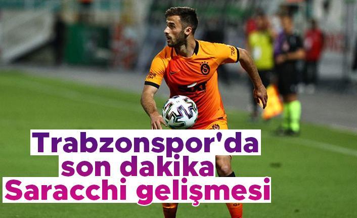 Trabzonspor'da son dakika Saracchi gelişmesi