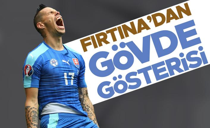 Trabzonspor'dan gövde gösterisi!