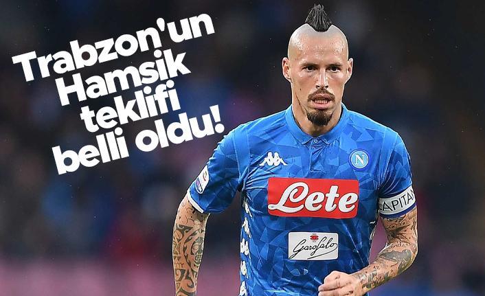 Trabzonspor'un Hamsik teklifi belli oldu!