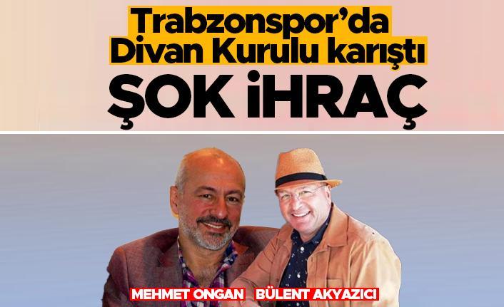 Trabzonspor'da Divan Kurulu karıştı! Şok ihraç...