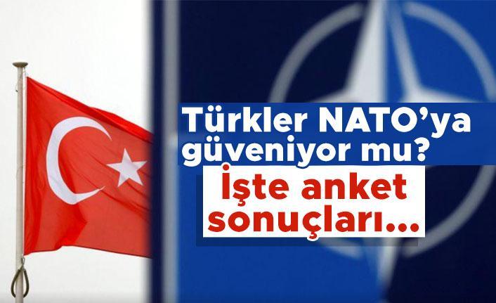 Türkler NATO'ya güveniyor mu? İşte anket sonuçları...