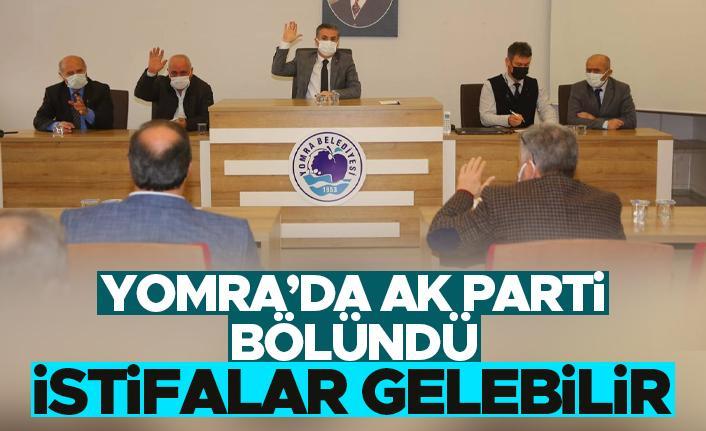 Yomra'da AK Parti bölündü.. İstifalar gelebilir..
