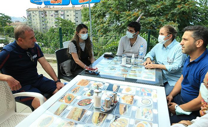 Avcı'da Mustafa Reşit Akçay'ın ailesine ziyaret