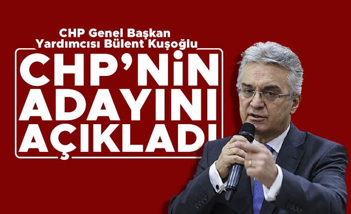 Bülent Kuşoğlu CHP'nin cumhurbaşkanı adayını açıkladı!