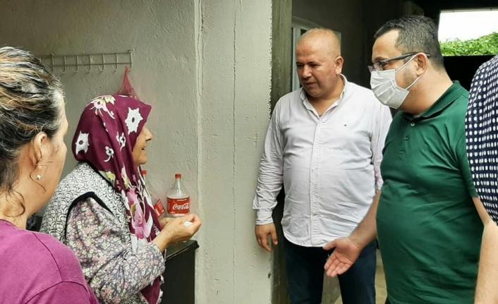 Bursa'nın ilçelerini sel vurdu...Başkan Kanar'dan sel mağdurlarına anında müdahale