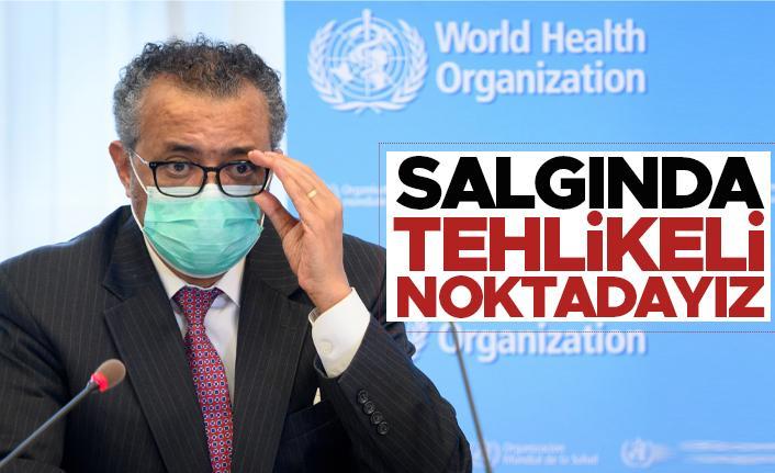 DSÖ: Dünya, koronavirüs salgınında tehlikeli noktada